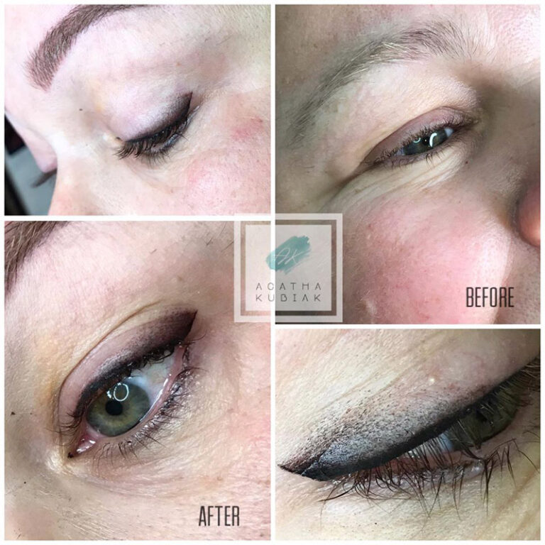 Chicago Eyeliner- Before and After