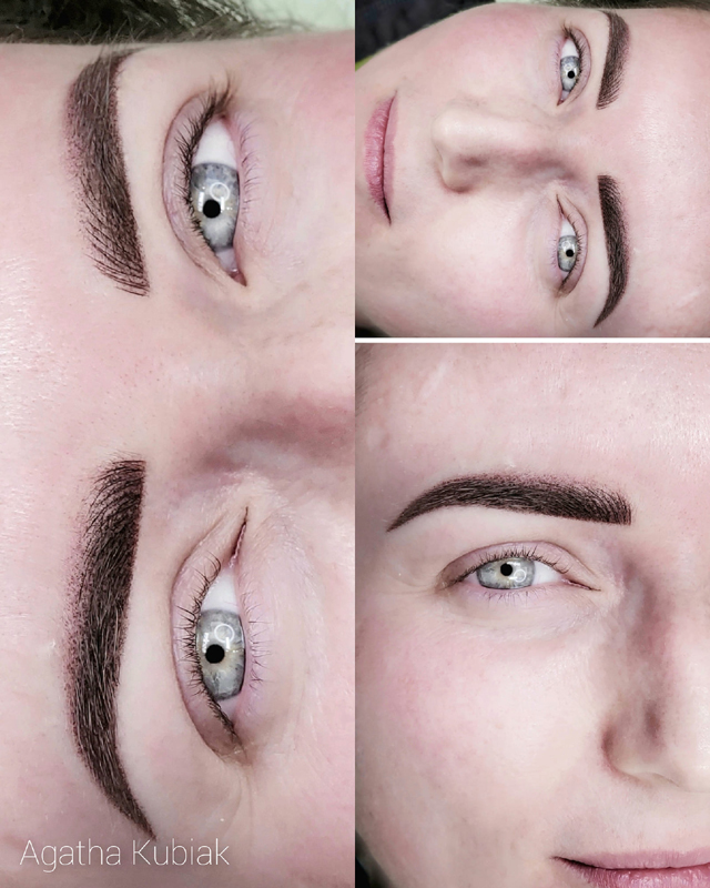Hybrid Technique - Microblading and Powder Eyebrows