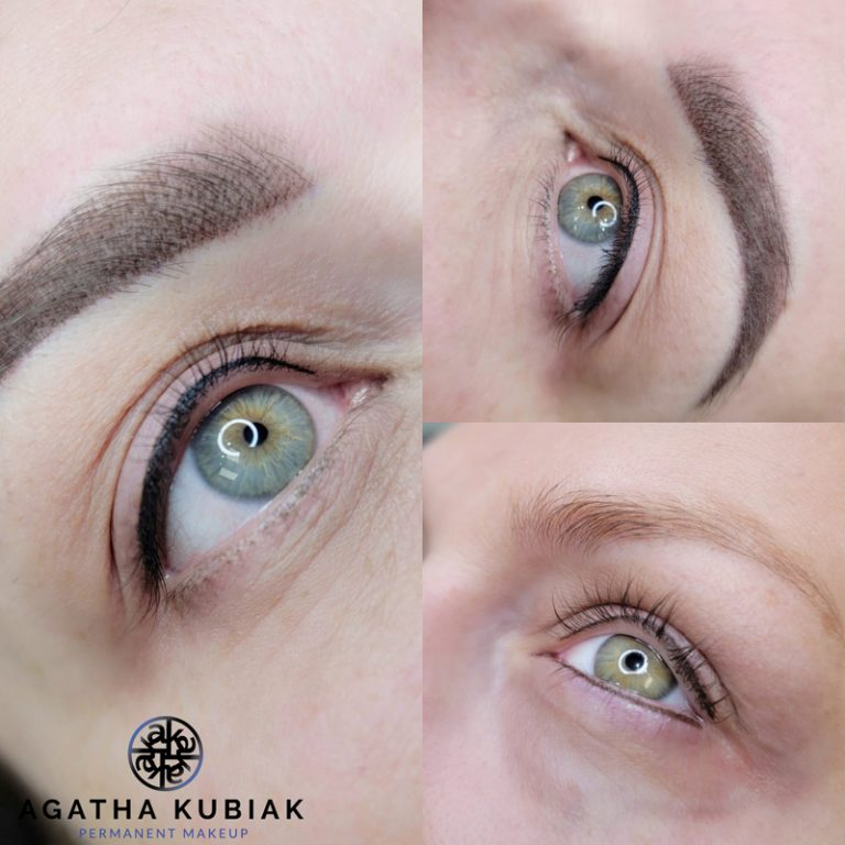 Soft, delicate eyeliner between eyelashes. Black and brown options.