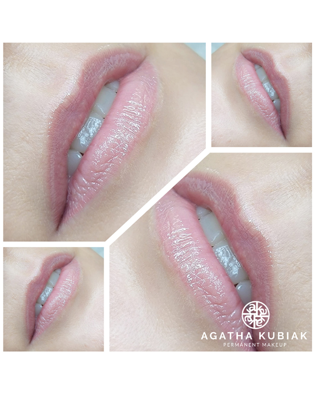 Blush lips - soft natural look, color french fancy
