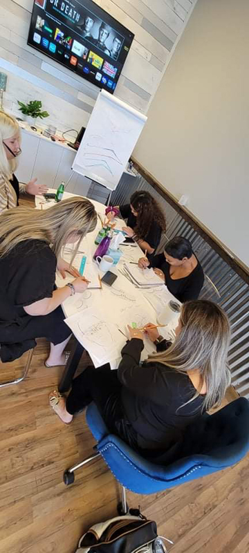 All About Eyebrow Training at the Signature Ink Institute in Arlington Heights.