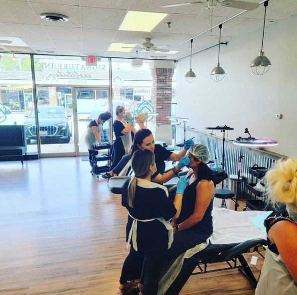 All About Eyebrow Training at the Signature Ink Institute in Arlington Heights